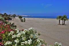 Playa del Vetanicas de Mojacar Almeria Andalusia Spain fotos de archivo libres de regalías