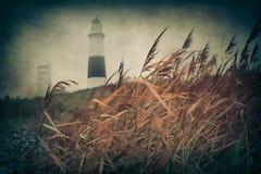 Playa del vintage Imagenes de archivo