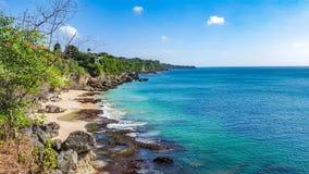 Playa del wangi de Tegal imágenes de archivo libres de regalías