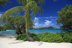 Playa del zafiro Foto de archivo libre de regalías