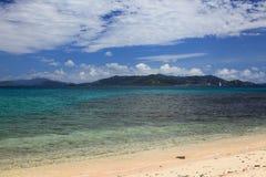 Playa del zafiro Imagen de archivo libre de regalías