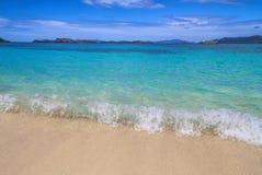 Playa del zafiro - St Thomas Fotos de archivo