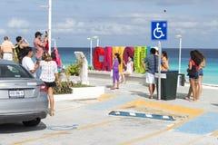 Playa Delfines Imágenes de archivo libres de regalías