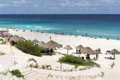 Playa Delfines Stock Images
