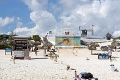 Playa Delfines Stock Photography