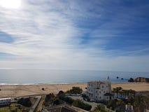 Playa della Roccha, Portimao stock photo