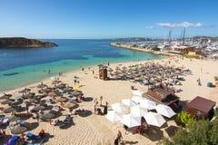 Playa della spiaggia di Nous dei portali, Mallorca, Spagna immagini stock
