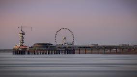 Playa Den Haag de Scheveningen Fotos de archivo libres de regalías