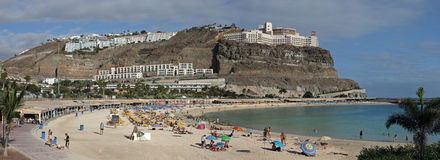 Playa des Amadores Royalty-vrije Stock Afbeelding