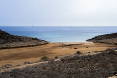 Playa Djibouti de Khorambador Imagen de archivo libre de regalías