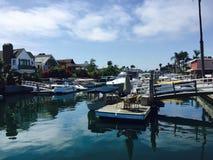 Playa DOK de Newport Foto de archivo