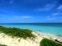 Playa dominante Fotografía de archivo libre de regalías