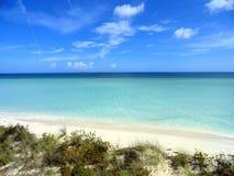 Playa dominante Foto de archivo libre de regalías