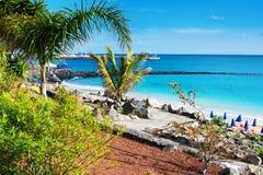 Playa Dorada στο BLANCA Playa, Lanzarote Στοκ φωτογραφία με δικαίωμα ελεύθερης χρήσης