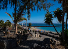 Playa Dorada Photo libre de droits