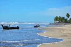 Playa El埃斯皮诺,萨尔瓦多 免版税库存图片