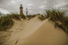Playa el lago Michigan Imagenes de archivo