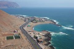 Playa El Laucho 免版税库存照片
