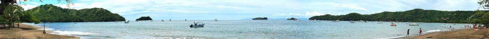 Playa el Pacífico de los Cocos de Costa Rica Fotografía de archivo libre de regalías