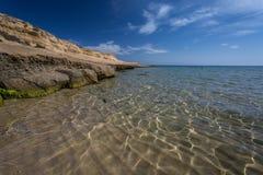 Playa el Playazo, Spanien Arkivbilder