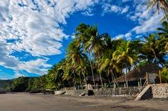 Playa El Zonte, Сальвадор Стоковое Изображение RF