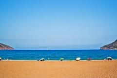 Playa en Adrasan Fotografía de archivo