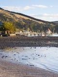 Playa en Akaroa imagen de archivo