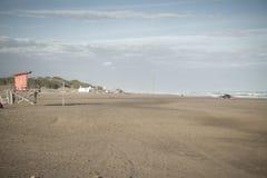 Playa en al sur Atlántico Imágenes de archivo libres de regalías
