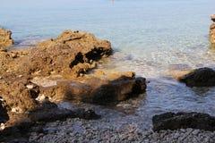 Playa en Brac, año 2013 Imagen de archivo libre de regalías