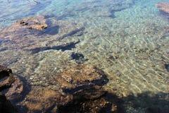 Playa en Brac, año 2013 Fotografía de archivo