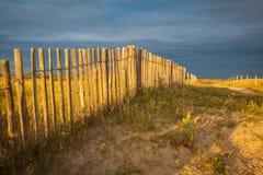 Playa en Bretaña Imágenes de archivo libres de regalías