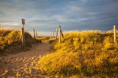 Playa en Bretaña Fotos de archivo libres de regalías