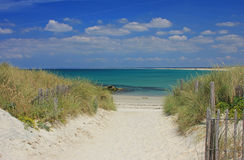 Playa en Bretaña, Francia Foto de archivo
