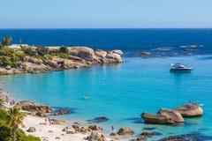 Playa en Cape Town, Suráfrica Fotografía de archivo
