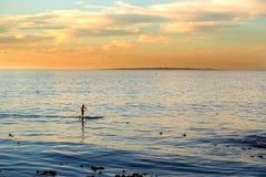 Playa en Cape Town, Suráfrica Fotos de archivo libres de regalías