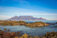 Playa en Cape Town, Suráfrica Fotografía de archivo libre de regalías