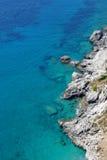 Playa en Capri Fotografía de archivo libre de regalías