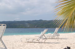 Playa en Carolina del Sur América Foto de archivo libre de regalías