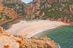 Playa en Cerdeña 2 Imagen de archivo libre de regalías