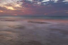 Playa en colores pastel Fotografía de archivo libre de regalías