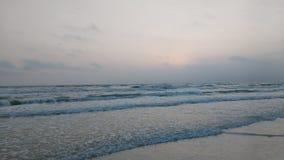 Playa en colores pastel 3 Imagen de archivo libre de regalías