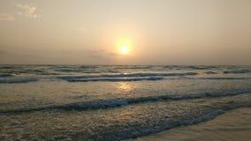 Playa en colores pastel 2 Fotografía de archivo