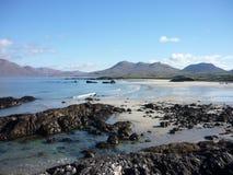 Playa en Connemara Imágenes de archivo libres de regalías