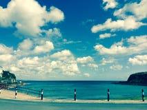 Playa en Cornualles Imagenes de archivo