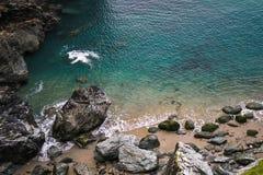 Playa en Cornualles, Penzance foto de archivo libre de regalías