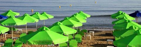 Playa en Crete Foto de archivo