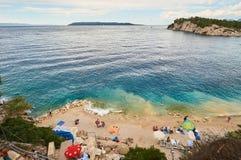 Playa en Croatia Imagen de archivo