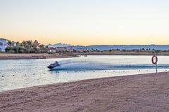 Playa en Egipto Foto de archivo