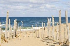 Playa en el bacalao de cabo Fotos de archivo libres de regalías