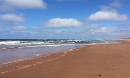 Playa en el bacalao del casquillo Fotos de archivo